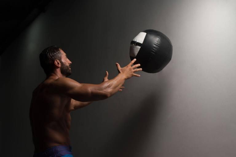 Wall Ball exercise