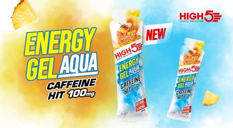 Energy Gel Aqua Caffeine Hit 100mg (High5)